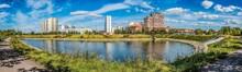 A Pond On Privolnaya Street Wi...