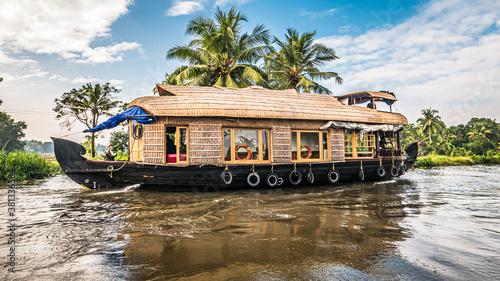 Foto Hausboot in den Backwaters von Kerala Indien