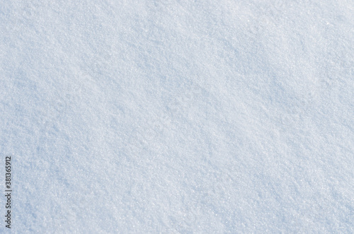 background white of fresh snow Wallpaper Mural