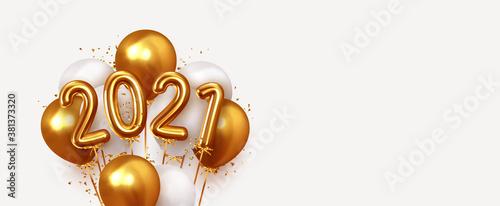 Fototapeta Happy New Year 2021