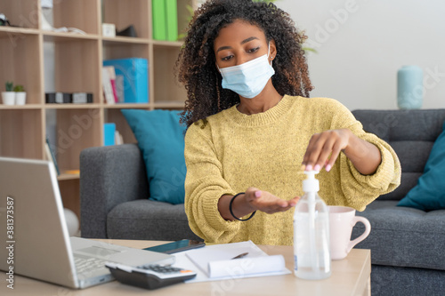Sanitize surfaces in prevention of virus and bacteria