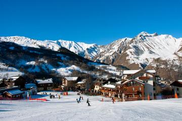 Saint Martin de Belleville Les Trois Vallees 3 Valleys ski area French Alps France