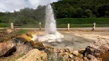 Natural Hot Springs At Pai District, Mae Hong Son, Thailand