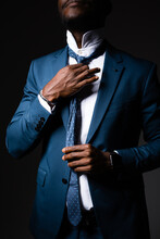 African American Man Straighte...
