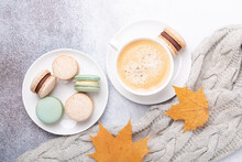 Cozy Autumn Composition With S...