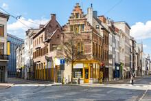 Meir Street Antwerp Belgium