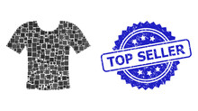 Distress Top Seller Stamp And ...