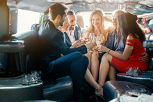Birthday Party In A Limo