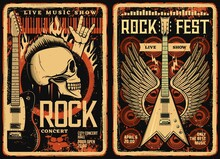 Rock Fest Posters And Flyers, ...