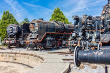 Old Steam Trains In Turkey