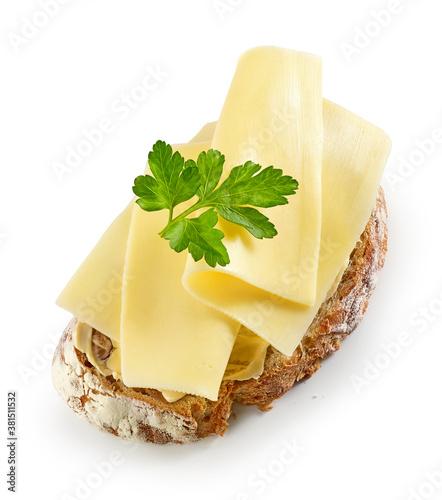 Fotografía breakfast sandwich with cheese