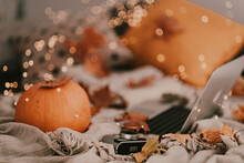 A Good Autumn And Halloween Af...