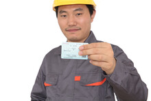 Migrant Worker Who Grab Train Ticket During The Traditional Chinese New Year