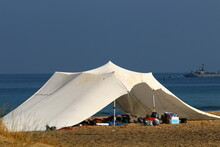 Tourist Tent On The Shores Of ...