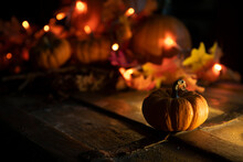 Calabazas Con Velas Halloween ...