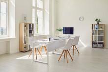 Interior Of Modern Office Room...