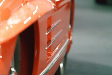 Closeup Of Heritage Cars From ...