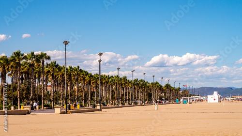 Fotomural Strandpromenade in Valencia