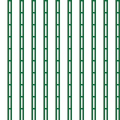 Vector seamless pattern texture background with geometric shapes, colored in green, white colors.