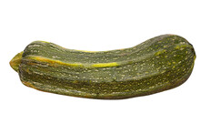 Raw Green Vegetable Marrow Iso...