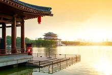 Xi 'an Datang Furong Park Scen...