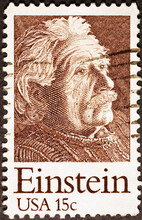Albert Einstein On US Postage ...