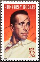Humphrey Bogart On American Postage Stamp