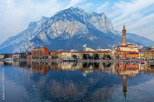 Lecco, Italy, February 16, 2020 Wallpaper Mural