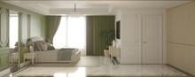 Bedroom, Interior Visualizatio...