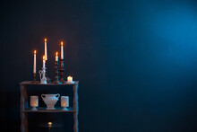 Candlesticks With Burning Cand...