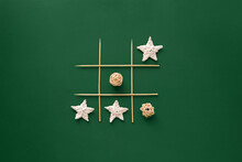 New Year Tic Tac Toe Game Isol...