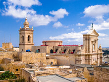 View Of The Cathedral In Rabat...