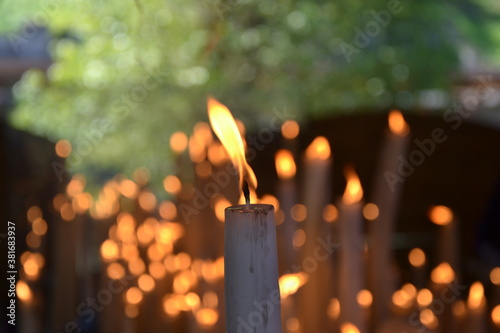 Photo Candle & Fire