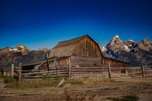 T. A. Moulton Barn Grand Teton Mountains
