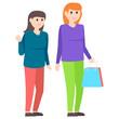 Shopping Girls Avatar