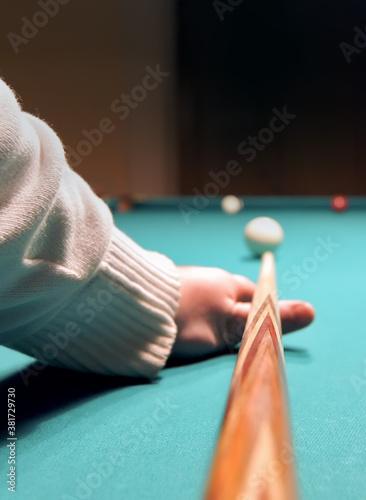 Fotografiet Game of billiards