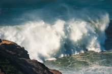 Big Waves On The Coast Of Atla...