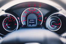 Car Dashboard - Speedometer, R...