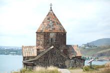 Church In Sevan In Armenia