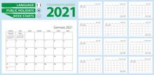 Italian Calendar Planner For 2...