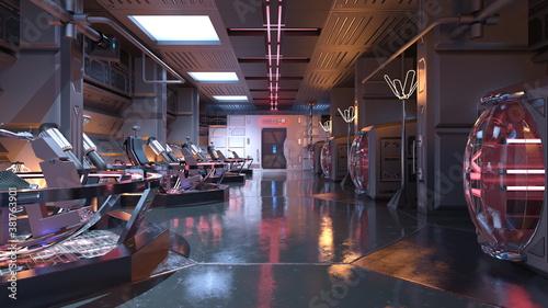 Obraz 未来的な建物  - fototapety do salonu