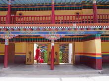 Beautiful Entrance To Monaster...