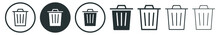 Bin Icon, Trash Can, Garbage Can, Rubbish, Bin Icon For Apps And Websites