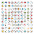Web icon set. Contact us icon set. Business, ecommerce, finance, accounting.