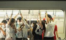 Many People On The Train Wear ...