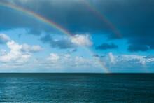 A Vivid Double Rainbow Spannin...