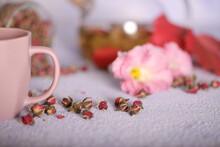 Tea From Rose Petals In Bags I...