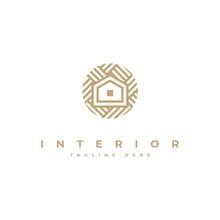 Interior Logo Design Inspiration Symbol Vector Template