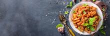 Fusilli Pasta With Tomato Sauc...