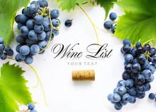 Wine List Background; Sweet Bl...